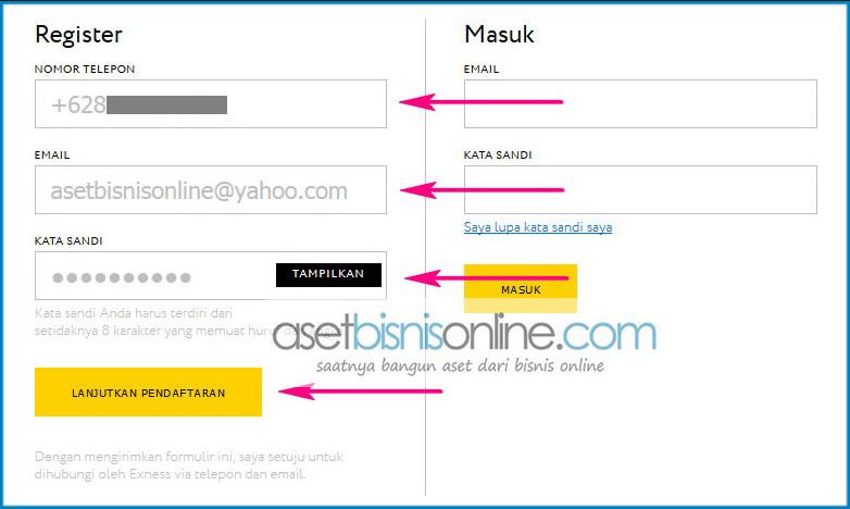 Cara Daftar Dan Membuka Akun Exness 2a - Cara Daftar Dan Membuka Akun Di Broker Exness Indonesia