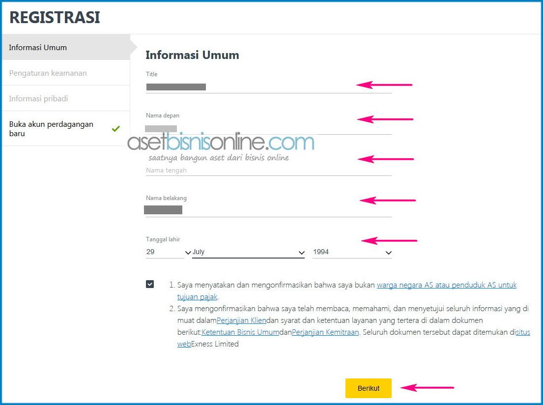 Cara Daftar Dan Membuka Akun Exness 9 - Cara Daftar Dan Membuka Akun Di Broker Exness Indonesia
