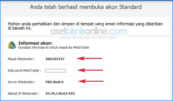cara daftar broker fbs terbaru 3a - Cara Daftar Dan Membuka Akun Di Broker FBS