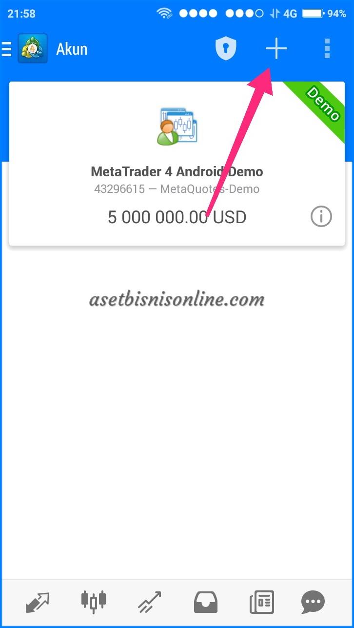 Cara Instal MT4 di Android 4 - Cara Instal Metatrader (MT4) di Android