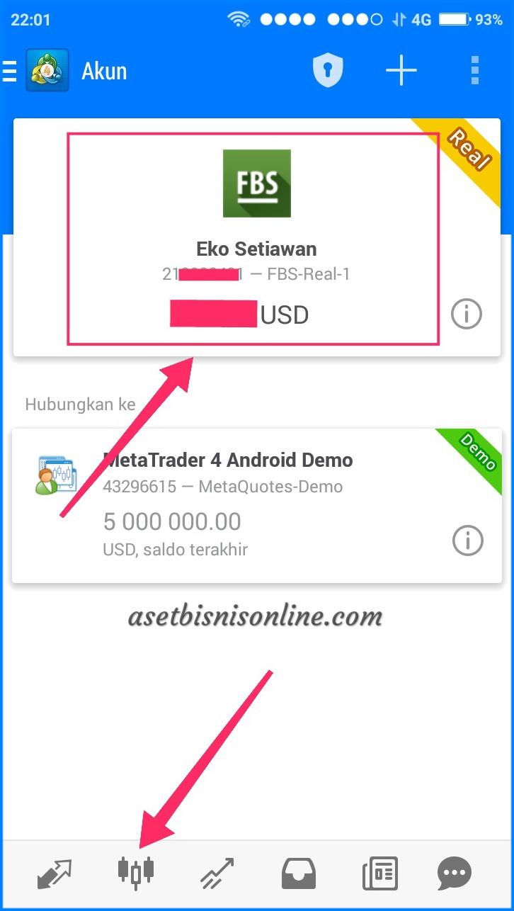 Cara Instal MT4 di Android 8 - Cara Instal Metatrader (MT4) di Android