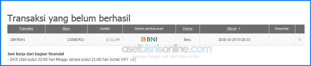 Cara deposit fbs dengan bank 11 - Cara Deposit FBS Melalui Bank Lokal Indonesia